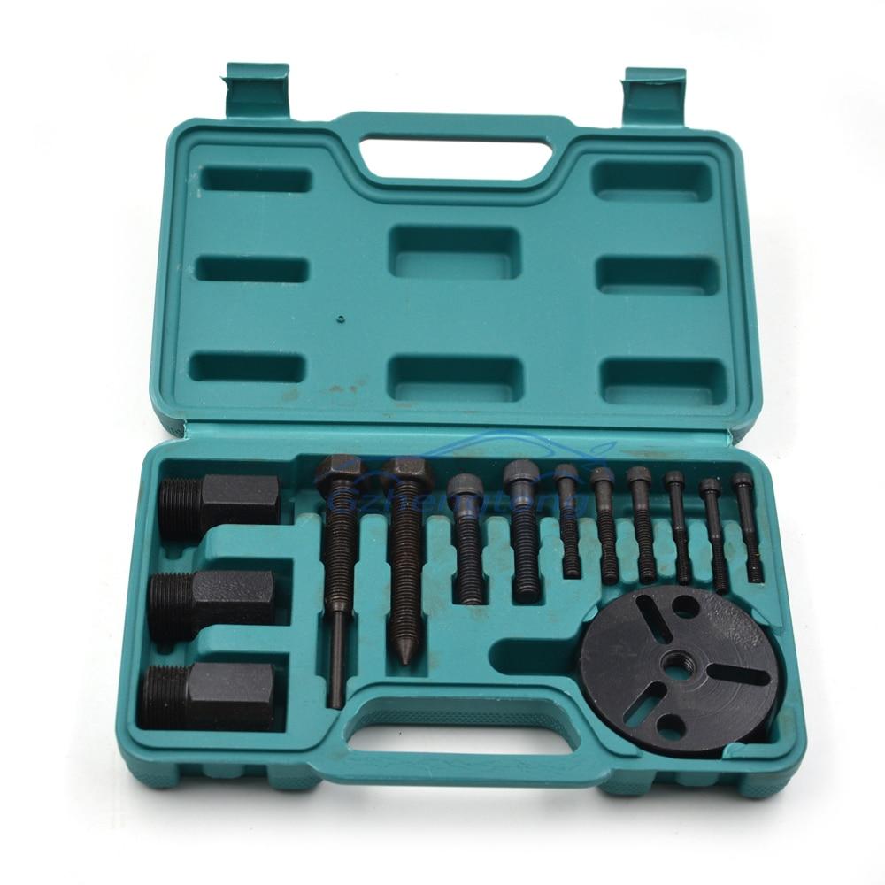 Universal Auto AC Werkzeug R134a R12 Kompressorkupplung Sauger Abzieher Kit Klimaanlage Reparaturwerkzeuge Schnellauktion Abzieher Set