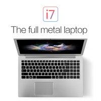 15,6 клавиатура с подсветкой ноутбук GeForce 940MX VOYO VBOOK I7 Dual Core i7 6500U ультрабук с тип c Bluetooth wifi win10 лицензия