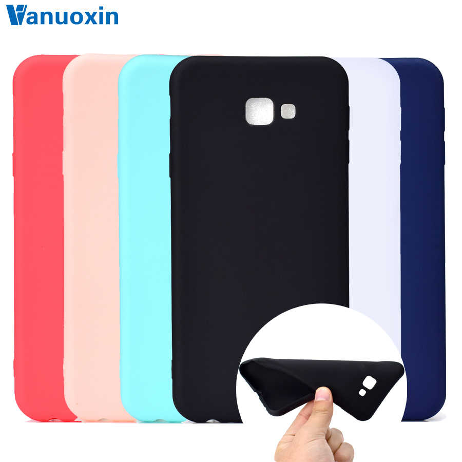 Silicone Case on for Fundas Samsung Galaxy J4 Plus case Soft TPU Back Cover sFor Coque Samsung J4 2018 J 4 Plus J415 Phone Cases