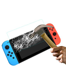 Tempered Clear Full Glass Screen Protector For Nintend Switch Protective Film Cover For Nintendo Switch NS Accessories(China)
