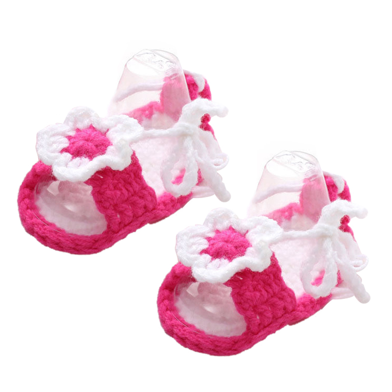 Hand knitted baby Girl booties,Baby shower gift,Baby prop Newborn Prewalker