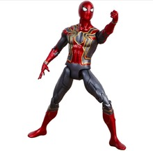 2018 Marvel Avengers 3 Infinity War Thanos Action Figure Thor Toy Iron Man Spiderman Captain America Black Panther Doll With Box