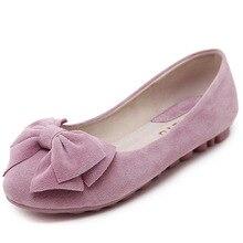 Bequemen frauen Flache Schuhe 2016 Atmungs Bowtie Ballerinas Frauen Müßiggänger Tanzschuh Mokassins Femme Kostenloser Versand