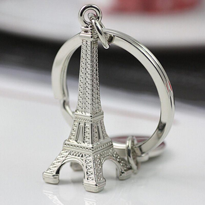 Retro Eiffel Tower Model Keychain Metal Keyring Gift Adornment Souvenirs France Paris Key Ring For Women Men Accessories