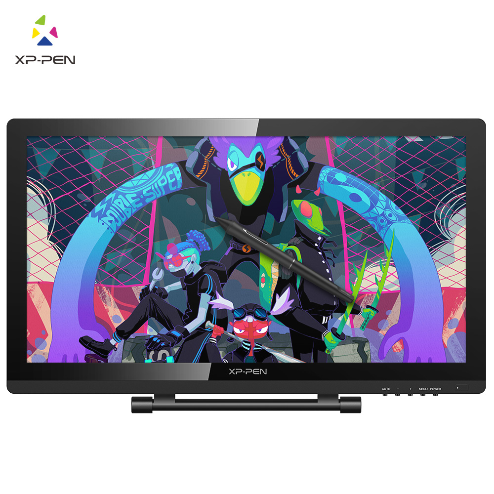 XP-Pen Artist22 Pro écran de stylo de dessin 21.5 pouces moniteur graphique 1920x1080 FHD moniteur de dessin numérique avec support réglable