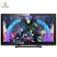 Xp-pen Artist22 Pro pantalla de dibujo 21,5 pulgadas Monitor de gráficos 1920x1080 FHD Monitor de dibujo Digital con soporte ajustable
