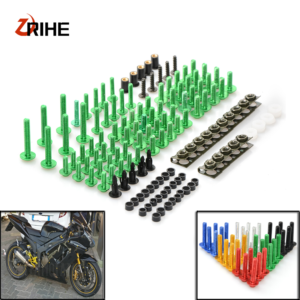 Motorcycle Accessories Fairing windshield Body Work Bolts Nuts Screw for Yamaha FZ1 FZ6 Fazer FZ8 MT07 MT09 XJ6 XJR1300