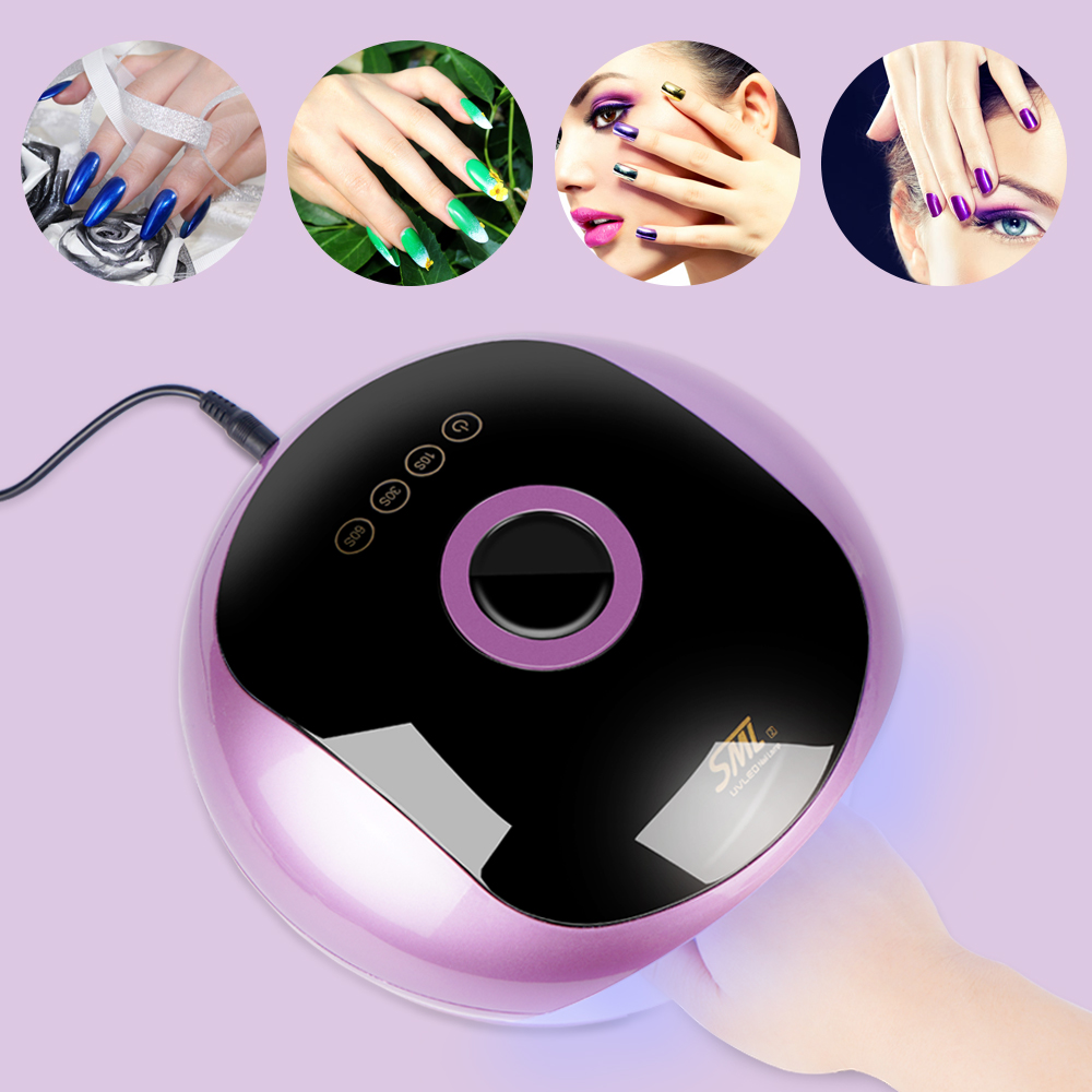 Professional S2 48W UV LED Lamp for Nails Dryer Manicure Sun Ice Nail Lamp Lacquer Gel Lamp All for Nails Polish LightProfessional S2 48W UV LED Lamp for Nails Dryer Manicure Sun Ice Nail Lamp Lacquer Gel Lamp All for Nails Polish Light