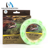 Floating Line WF5 6F 7 8F 100ft Double Color Fly Fishing Line Weight Forward Fly Line