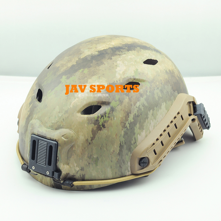 FMA Base Jump BJ Helmet A-TACS AU Sports Helmet+Free shipping(SKU12050178) new maritime tactical fma helmet abs fg for fma paintball free shipping