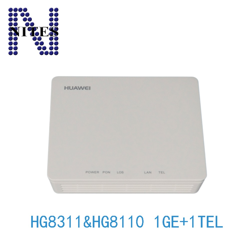 5pcs A Lot /original New Hg8311 Gpon Class C 1tel Ont,english Version For Hua Wei 2019 New Fashion Style Online Terminal Onu 1ge