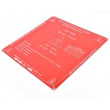 For RepRap 3D Printer dual power PCB Heatbed MK2B Heat Bed Hot Plated 12V 24A 1x PCB Heatbed MK2B Drop Shipping