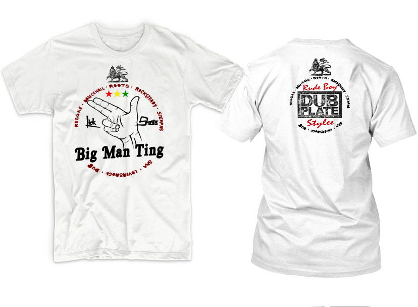 2019 New Men'S T Shirt Reggae T-Shirt Jah Rastafari Haile Selassie Steel Pulse Chronixx Rub-a-Dub tee T-shirt
