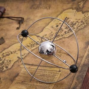 1 шт. кинетическое искусство! Мобильный Млечный Путь Gizmos вечное движение Сферический маятник вращающийся стол орбитальная игрушка
