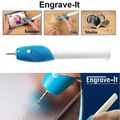 Engraving Pen for scrapbooking tools Stationery DIY Engrave it Electric Carving Pen Machine Graver Tool Engraver 5509