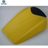 Motorcycle Rear Seat Cover ABS Plastic Cushion Tail Section Fairing Cowl Yellow For 2008 2015 Honda CBR 1000RR CBR 1000 RR