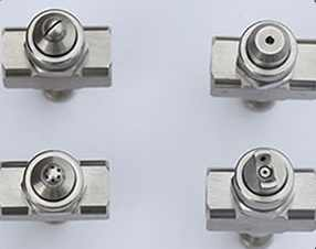 Compressed Air Penyemprot Nozzle Dua Cairan Penyemprot Nozzle 304 Stainless Steel Adjustable Nozzle Pertanian Alat Watet Spray