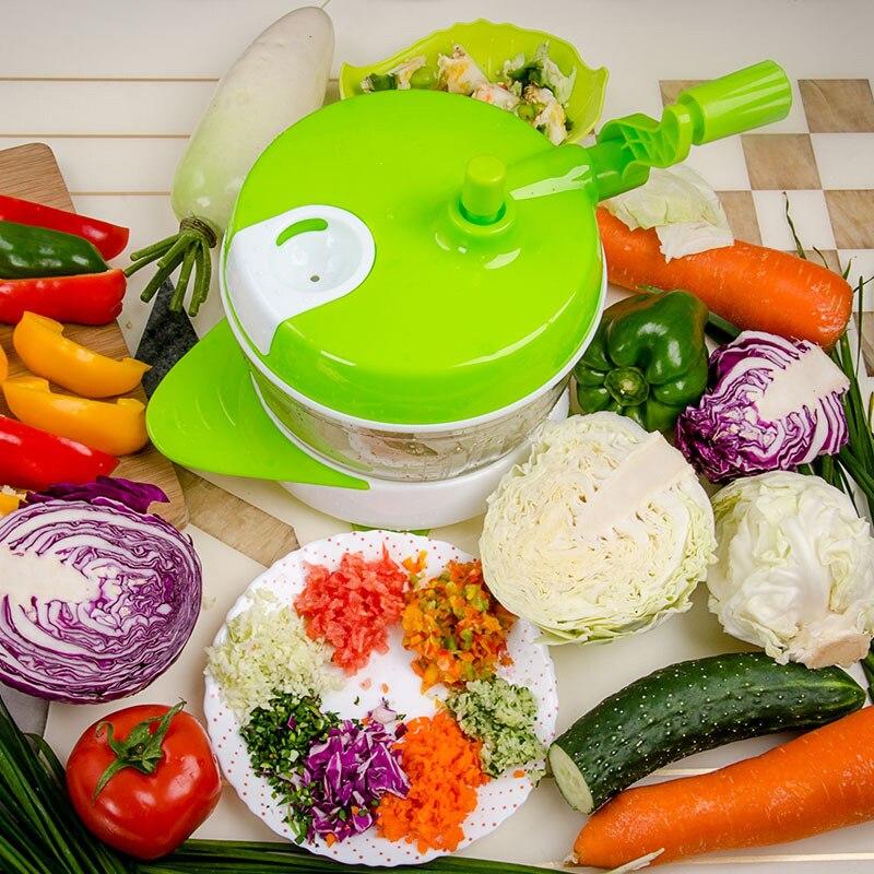 LUCOG Robot da Cucina Manuale A mano Alimentato Miracolo Chopper ...