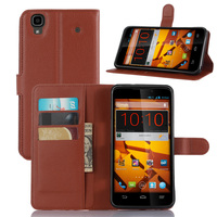 Classical PU Leather Wallet With Stand Case for N9520 ZTE MAX Business Style Phone Bag Shell for ZTE MAX N9520