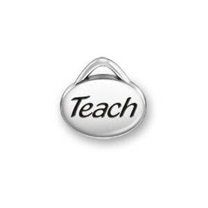 my shape 60pcs Festival Gift Teach Message Charms Jewelry For Bracelets