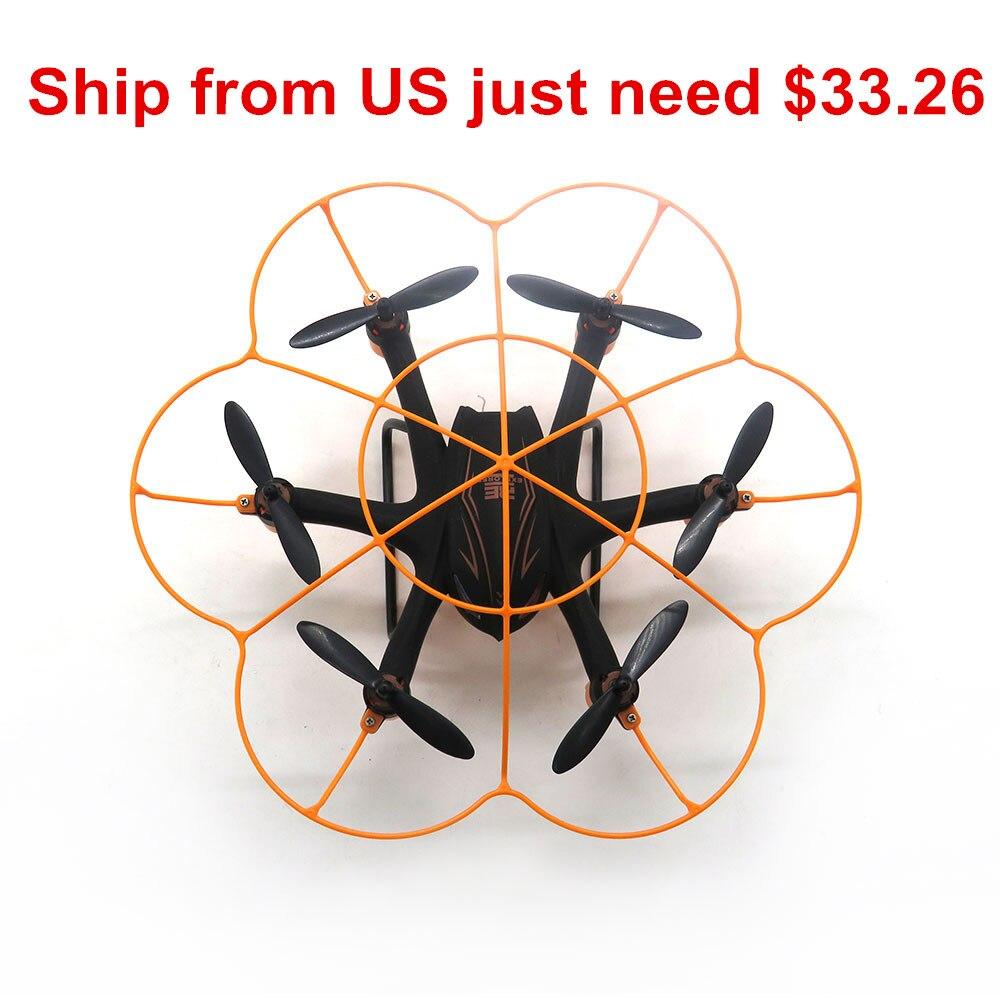 WLtoys Q383-B Мини RC Quadcopter WI-FI FPV с 0.3MP Камера headless режим оригинальный Hexacopter беспилотный rtf
