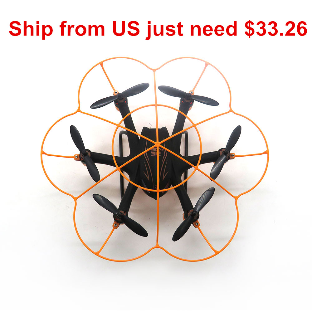 WLtoys Q383-B Mini RC Quadcopter WIFI FPV avec 0.3MP Caméra Sans Tête Mode D'origine Hexacopter Drone RTF
