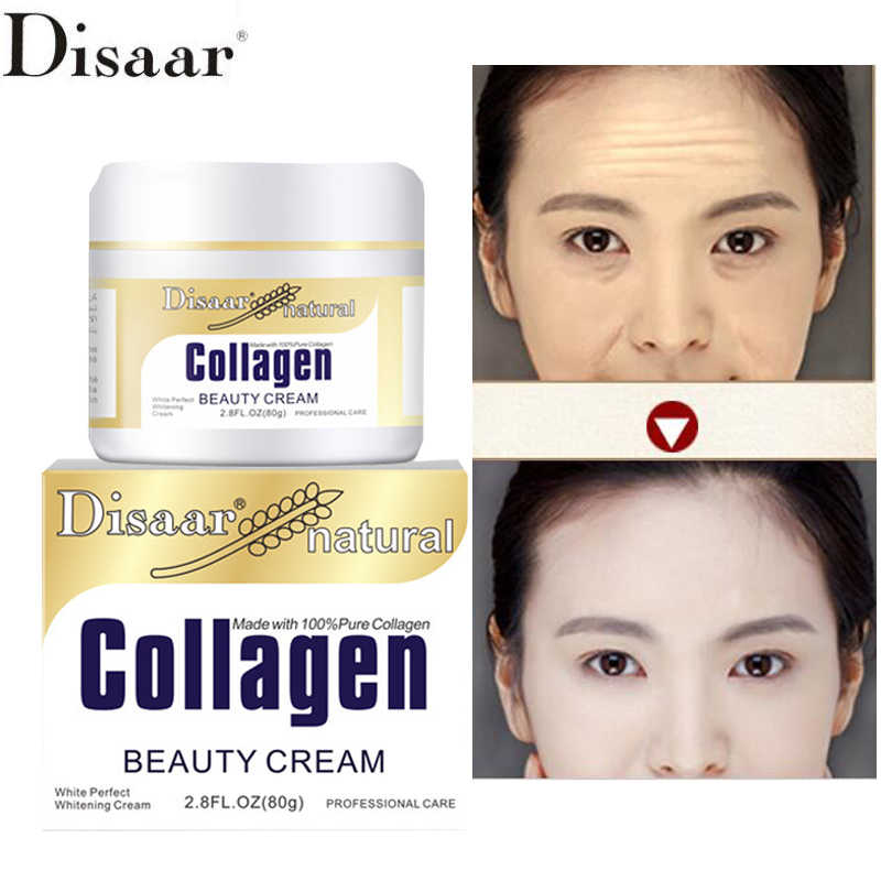 Face Cream Collagen Facial Moisturizer Cream Lanolin Skin