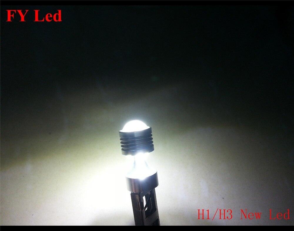 Coppia lampade h1 p14 5 s 3 3 reflektor cree led chips 30 watt 12