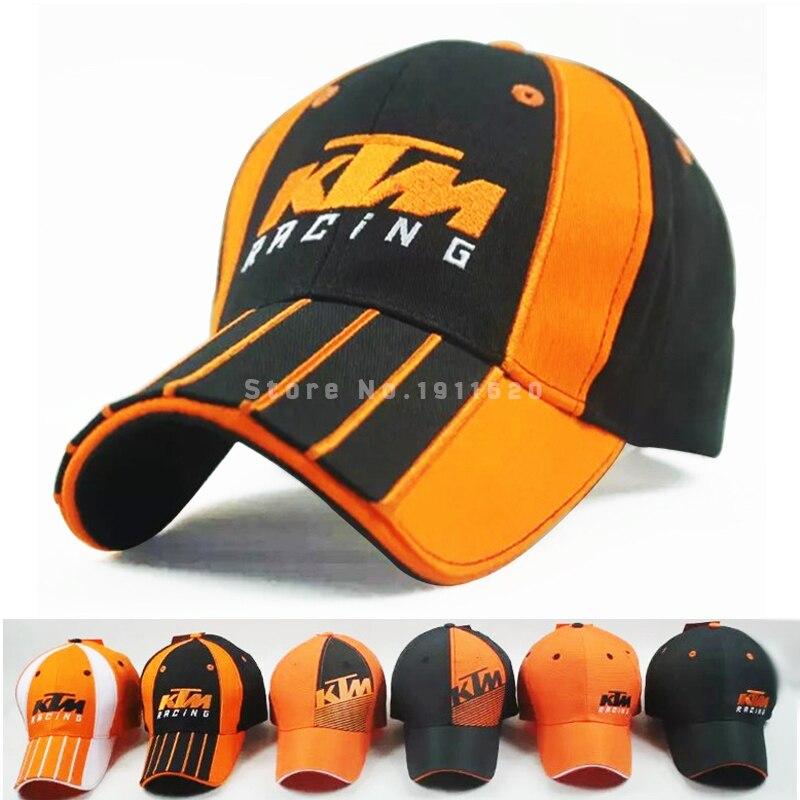 Prix pour 2016 vente chaude coton moto gp lettres ktm racing caps broderie casquettes de baseball pour hommes snapback golf cap loisirs soleil chapeaux