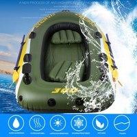 2 3 человек резиновая лодка комплект надувные ПВХ Рыбалка дрейфующих спасательный плот спасательный жилет Двухстороннее Электрический нас