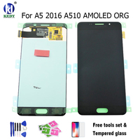 KEDY Compatible For SAMSUNG GALAXY LCD A5 2016 SM A510F A510FD A510 LCD Display With Touch