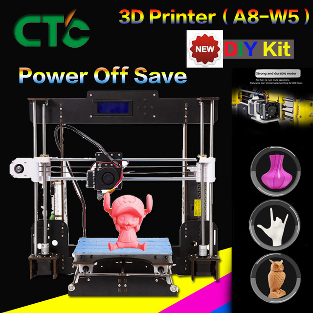 US $83 6 5% OFF CTC A8 Impresora 3D Printer High Precision Imprimante 3D  DIY-in 3D Printers from Computer & Office on Aliexpress com   Alibaba Group