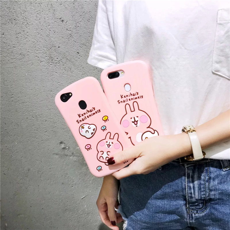 Korea cartoon rabbit 3D For iphone X Unicorn case Small waist pink cover For iphone 8 plus soft case For iphone 7 plus 6 6s case