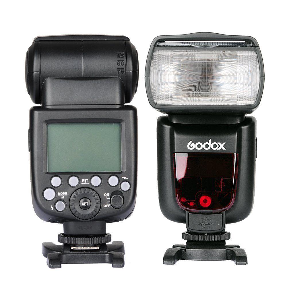 Image 2 - 2x Godox TT685N 2.4G Wireless HSS 1/8000s i TTL Flash Speedlite + X1T N Trigger + 10x 2500mAh Battery for Nikon DSLR Camerasgodox tt685nflash speedlitefor nikon -