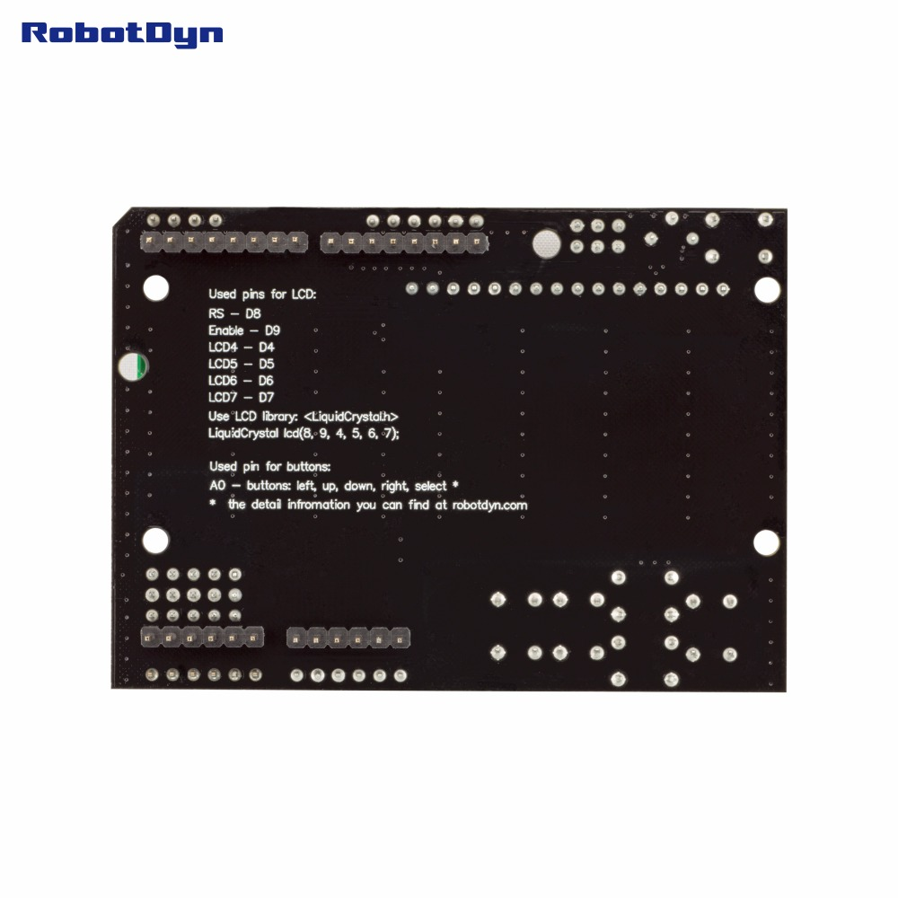 US $6 89 |RUSSIAN (Cyrillic) LCD keypad Shield, 1602 display, for Arduino  LCD Shield GREEN SCREEN-in EL Products from Electronic Components &  Supplies