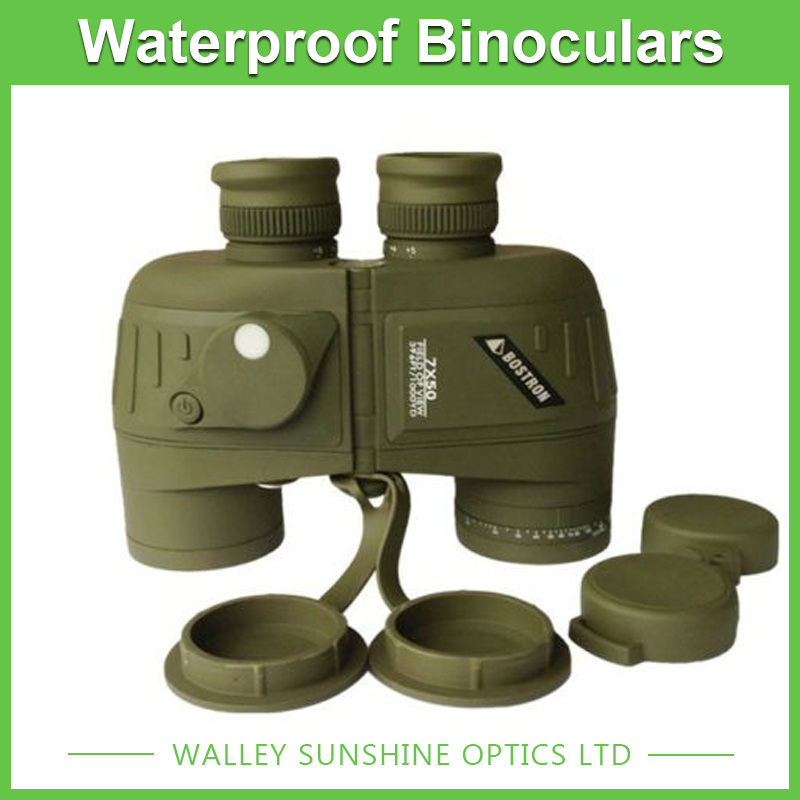 7X50 Optical Binoculars Nautical Telescope Waterproof Outdoor Sporting Camping Hunting Telescope with font b Rangefinder b