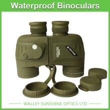 7X50 Optical Binoculars Nautical Telescope Waterproof Outdoor Sporting Camping Hunting Telescope with Rangefinder Compass