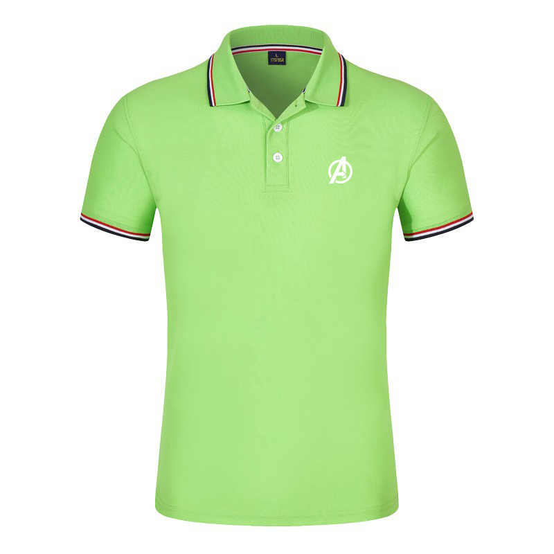 NEW Brand Men's Polo Shirt For Men Desiger Polos Men Cotton Short Sleeve shirt Clothes jerseys golftennis Plus Size X - 3XL