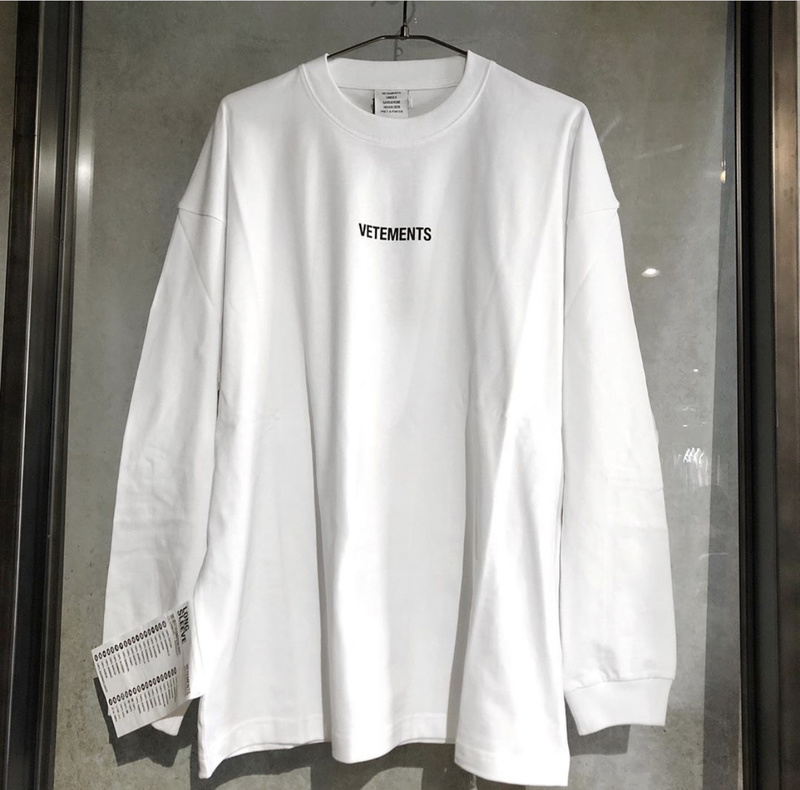 Vetements T Shirt Men Women Long Sleeve Streetwear 1:1 Harajuku Tshirt Best Quality Oversized Heron Preston Vetements T-shirt
