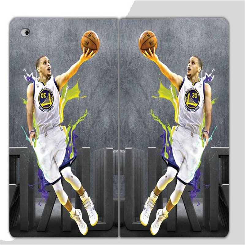best cheap 09c80 f62b7 US $17.98  Unique Basketball star Stephen Curry pattern leather cover for  ipad mini 1 2 3 common high quality slim tablet case with stand-in Tablets  & ...
