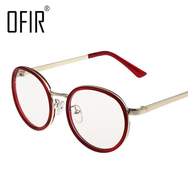 6ea2198d99bf7 OFIR Optical Frames Korea Retro Round Glasses Frame Gafas Fresh College  Wind Myopia Frame Eyeglasses Armacao De 2018 SG-13