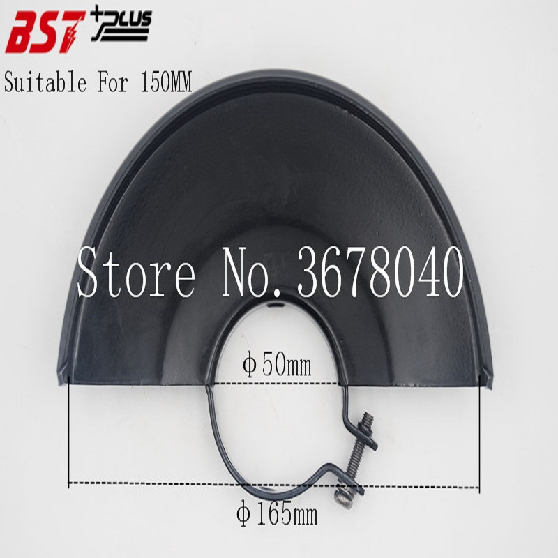 BLACK METAL WHEEL SAFETY GUARD PROTECTION COVER FOR 150MM ANGLE GRINDER, POWER TOOLS ACCESSOIRES