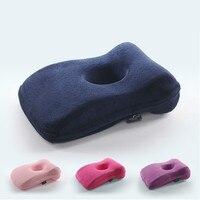Memory Foam Pillow for Desk Sleeping Multinational Travel Memory pillow Office Nap L shape Slow Rebound Solid Anti Apnea Pillow