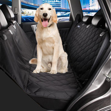 Стеганые собака автокресло обложка легкий вес автомобиля крышка для домашних животных черная собака гамак анти-скольжения, складная собак коврики pet carrier мешок