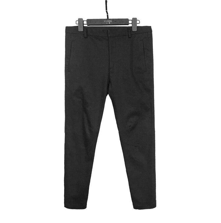 Streetwear Harem pantalon survêtement s hommes 2019 Hip Hop Skinny Slim pantalon jambe ouverture Zipper mâle survêtement pantalon pantalons décontractés
