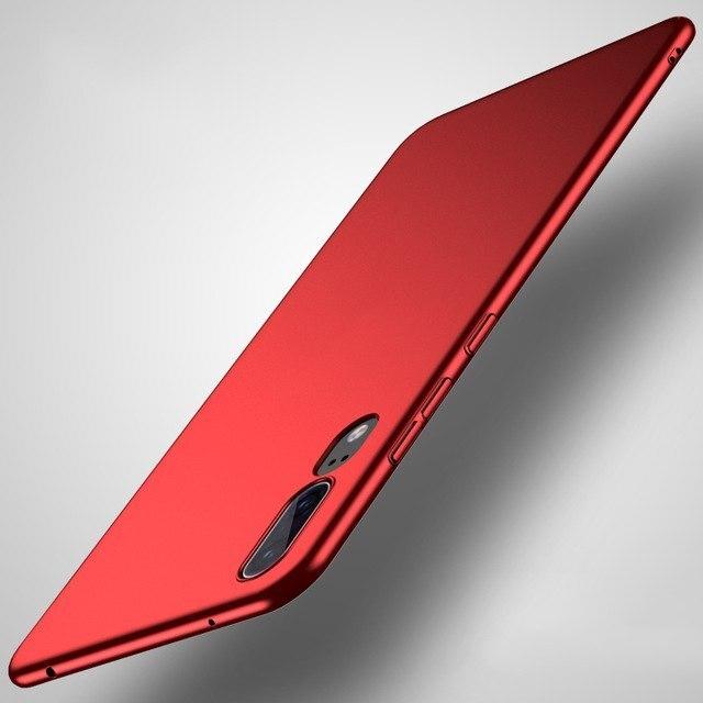 Case Cover Matte Hard PC Capa For huawei P Smart Plus Nova 3 3i P20Lite full P20 Pro Honor Note10 7A Cover Funda Back Full Cases