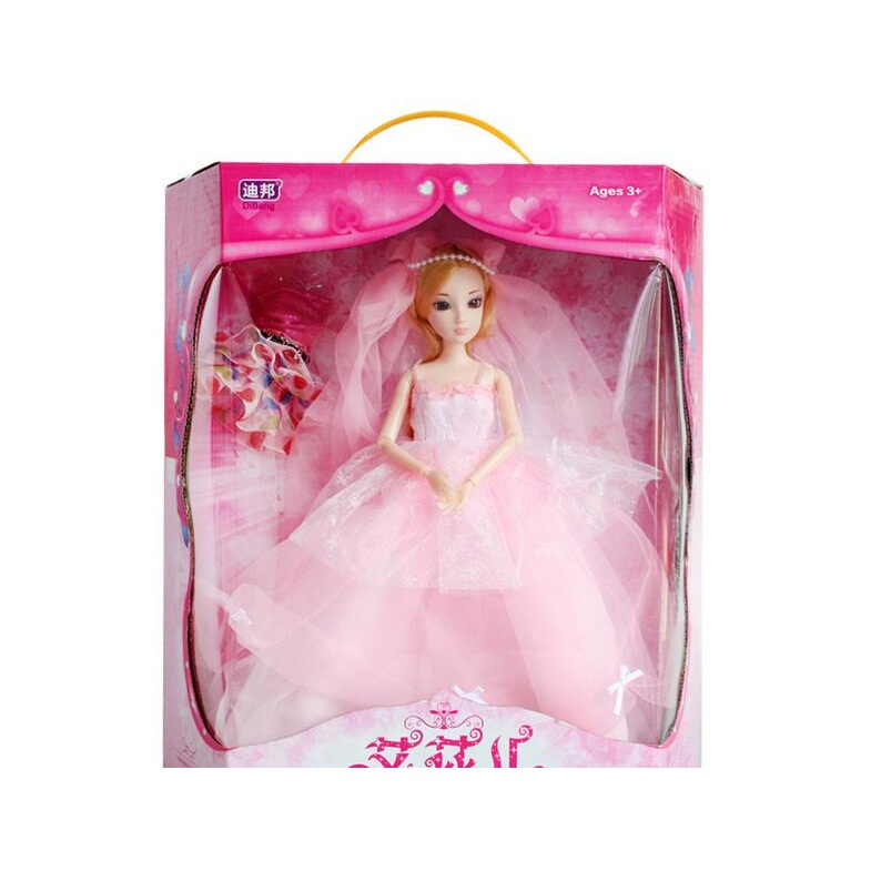 ФОТО new favorite princess doll fashion party wedding dress moveable joint body classic toys best gift for girls friends
