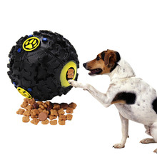 Funny Dog Cat Toys Food Ball Toy For Dogs Pet Dispenser Outdoor Easy Carry Training Puppy Hard Chew Interactive