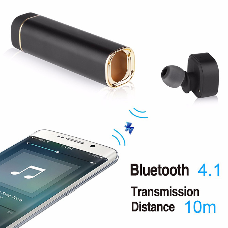 Mini True Wireless Stereo Bluetooth Earphones V 4.1 Earbud Headset Sport Invisible Headphone with Microphone Power charger box new i7 mini bluetooth earbud wireless invisible headset with mic stereo bluetooth earphone fit ios android smartphone
