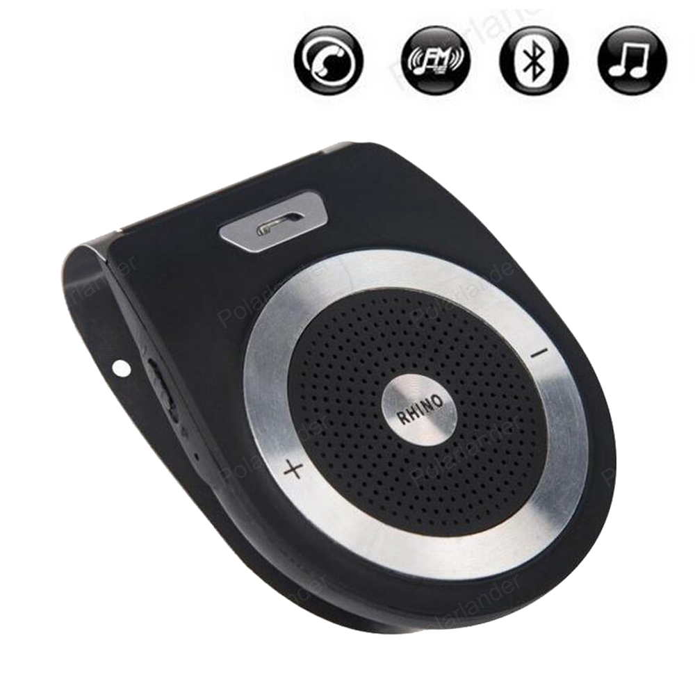 auto Wireless Aux Speaker Bluetooth V4.0 Car Kit Hands Free music player